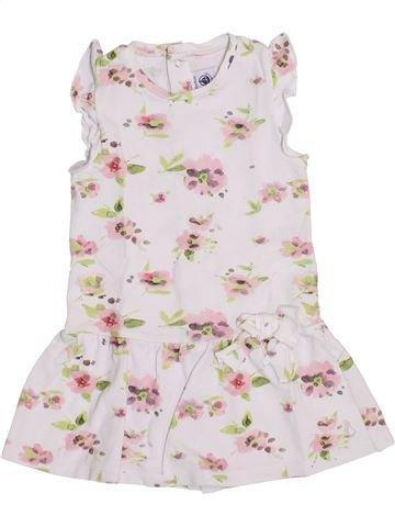 Vestido niña PETIT BATEAU blanco 2 años verano #1372463_1