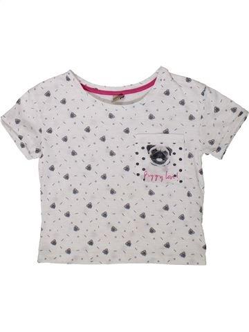 Camiseta de manga corta niña TU blanco 7 años verano #1372581_1