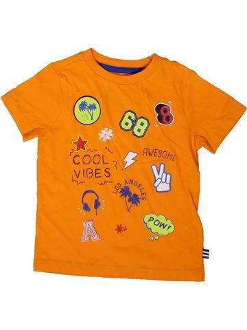 Camiseta de manga corta niño F&F naranja 3 años verano #1372583_1