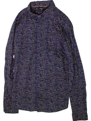 Camisa de manga larga niño MARKS & SPENCER gris 13 años invierno #1372673_1