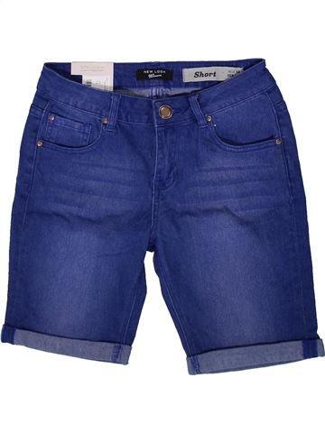 Short-Bermudas niña NEW LOOK azul 13 años verano #1372804_1