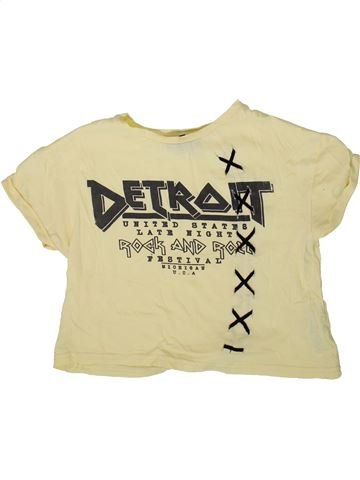 Camiseta de manga corta niña NEW LOOK beige 11 años verano #1372805_1