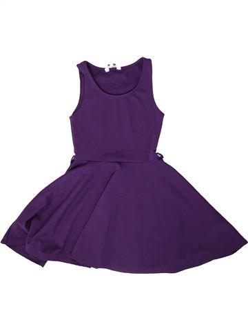 Vestido niña NEW LOOK violeta 9 años invierno #1372993_1