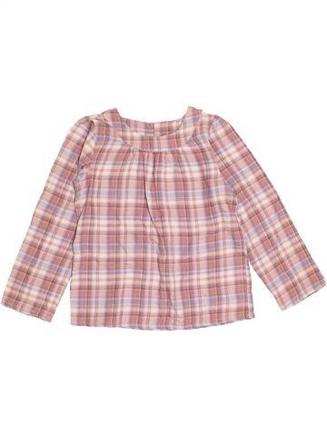 Blusa de manga larga niña MONOPRIX rosa 10 años invierno #1373042_1