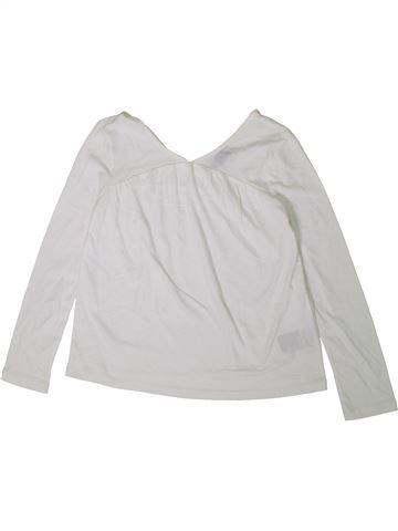 Camiseta de manga larga niña GAP blanco 8 años invierno #1373048_1