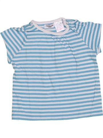 T-shirt manches courtes fille LA REDOUTE CRÉATION bleu 12 mois été #1373190_1