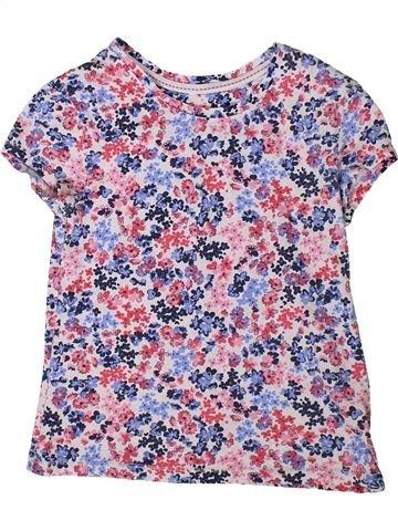 Camiseta de manga corta niña GEORGE violeta 8 años verano #1373213_1