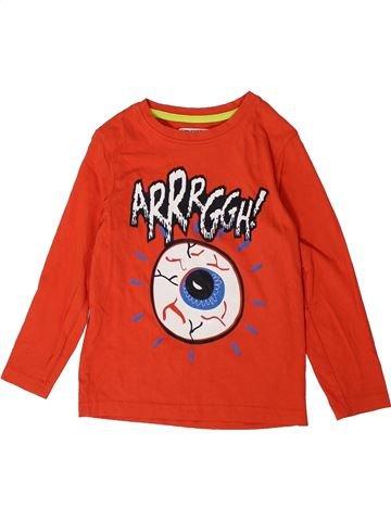 Camiseta de manga larga niño TU rojo 4 años invierno #1373480_1