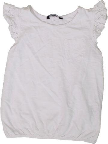 Camiseta de manga corta niña GEORGE blanco 6 años verano #1373506_1