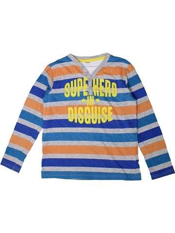 Camiseta de manga larga niño SANS MARQUE azul 8 años invierno #1373558_1