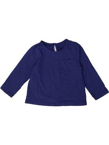 Camiseta de manga larga niña SANS MARQUE azul 2 años invierno #1373567_1