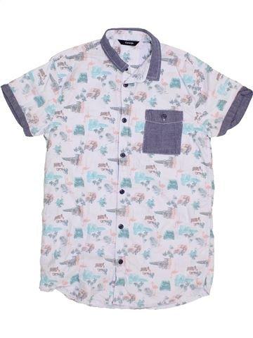 Camisa de manga corta niño GEORGE gris 14 años verano #1374042_1