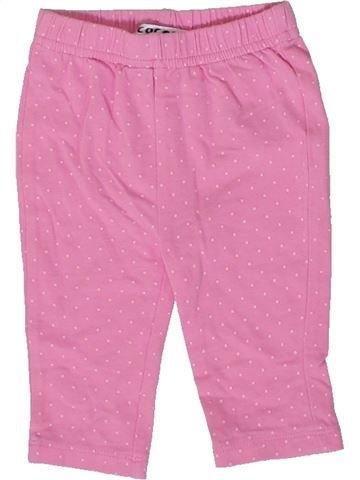 Legging niña LA REDOUTE CRÉATION rosa 3 meses verano #1374067_1