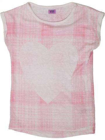 Camiseta de manga corta niña F&F rosa 9 años verano #1374112_1