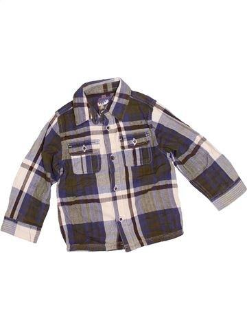 Camisa de manga larga niño MOTHERCARE marrón 3 años invierno #1374163_1