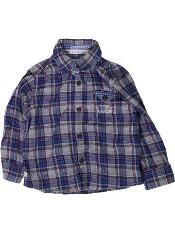 Chemise manches longues garçon JASPER CONRAN bleu 2 ans hiver #1374262_1