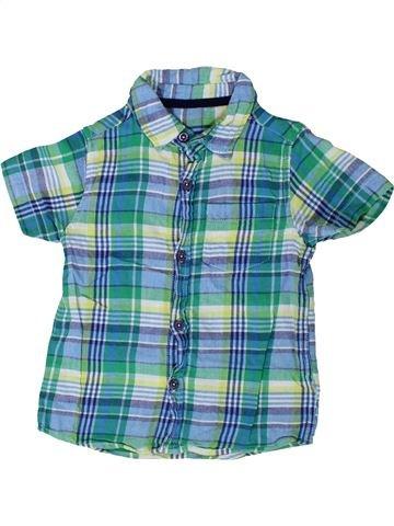 Camisa de manga corta niño TU azul 3 años verano #1374487_1