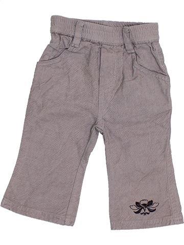 Pantalón niña SUCRE D'ORGE gris 6 meses invierno #1374651_1