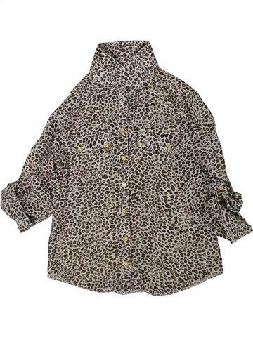 Blusa de manga corta niña F&F gris 7 años verano #1374764_1