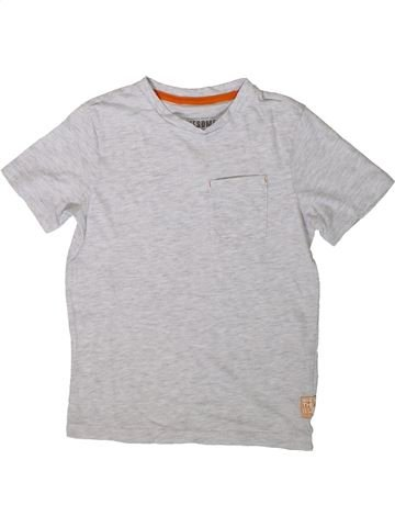 Camiseta de manga corta niño F&F gris 7 años verano #1374845_1