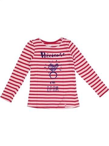 Camiseta de manga larga niña DPAM rojo 6 años invierno #1375354_1