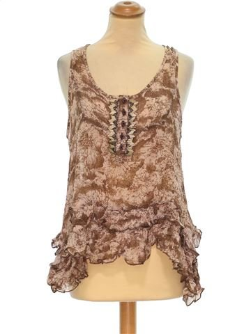 Camiseta sin mangas mujer PAPAYA 44 (L - T3) verano #1375371_1