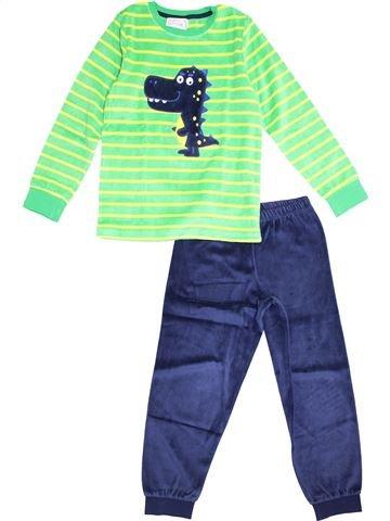 Pijama de 2 piezas niño C&A verde 8 años invierno #1375381_1
