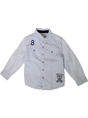 Camisa de manga larga niño ORCHESTRA gris 5 años invierno #1375393_1