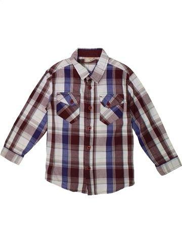 Camisa de manga larga niño DPAM marrón 5 años invierno #1375404_1