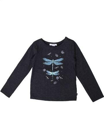 Camiseta de manga larga niña OKAIDI azul oscuro 3 años invierno #1375557_1