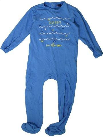 Pijama de 1 pieza niño KIABI azul 3 años verano #1375809_1