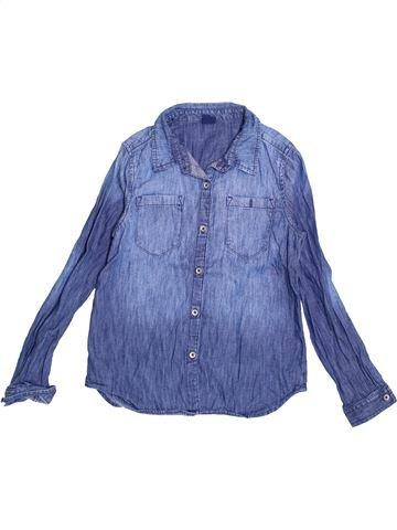 Chemise manches longues garçon GAP bleu 11 ans hiver #1375904_1