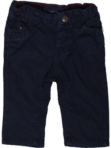 Pantalon garçon TOMMY HILFIGER noir 6 mois hiver #1376977_1