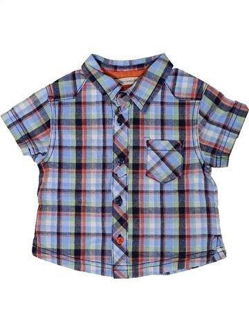 Camisa de manga corta niño JOHN LEWIS gris 9 meses verano #1377641_1