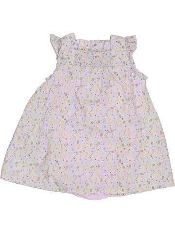 Robe fille CADET ROUSSELLE blanc 6 mois été #1379783_1