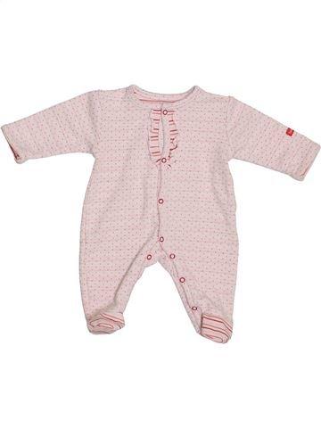Pijama de 1 pieza niña BRIOCHE violeta 0 meses verano #1379872_1