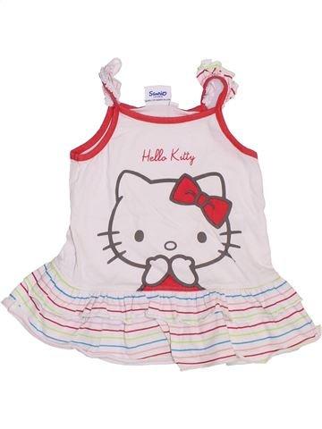 Túnica niña HELLO KITTY blanco 9 meses verano #1380170_1