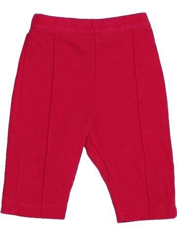 Pantalon fille LILI GAUFRETTE rouge 3 mois été #1380305_1