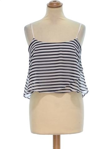 Camiseta sin mangas mujer BERSHKA M verano #1380322_1