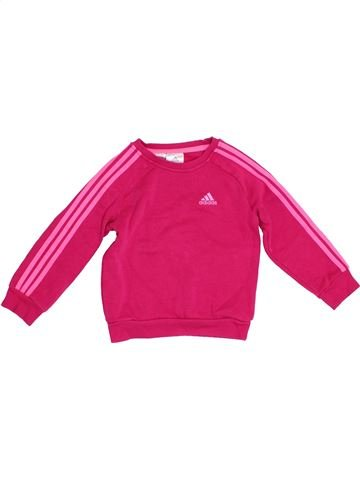 Sweat fille ADIDAS rose 2 ans hiver #1380671_1