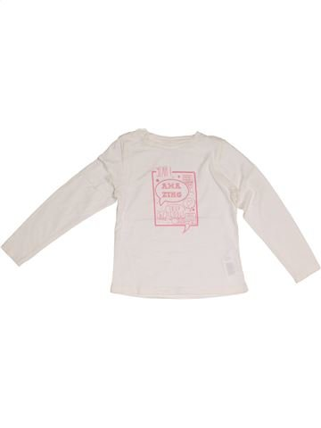 T-shirt manches longues fille ORCHESTRA blanc 5 ans hiver #1381489_1