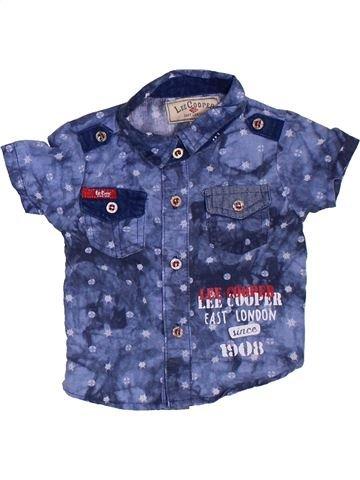 Chemise manches courtes garçon LEE COOPER bleu 3 mois été #1381696_1