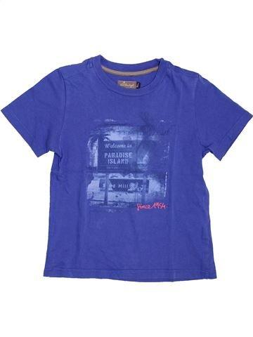 Camiseta de manga corta niño JEAN BOURGET azul 8 años verano #1381968_1