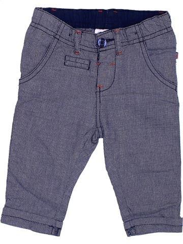 Pantalon garçon ERGEE violet 6 mois été #1382084_1