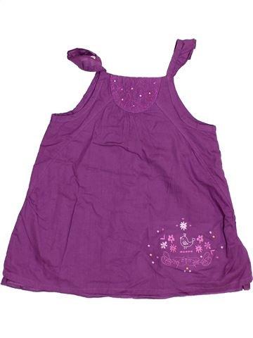 Vestido niña LES BEBES SONT COMME ÇA violeta 9 meses verano #1382136_1