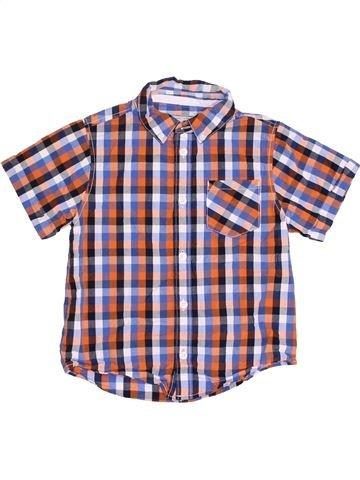 Camisa de manga corta niño BOYS violeta 5 años verano #1382554_1