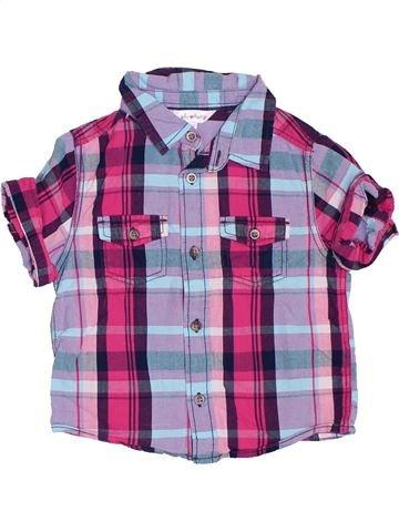 Chemise manches courtes garçon KIABI violet 2 ans été #1383324_1