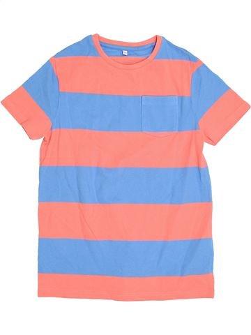 T-shirt manches courtes garçon MARKS & SPENCER rose 11 ans été #1383511_1
