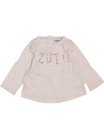 T-shirt manches longues fille TAPE À L'OEIL violet 6 mois hiver #1383587_1