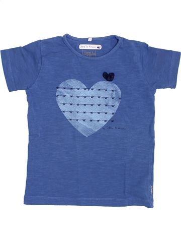 Camiseta de manga corta niña NAME IT azul 3 años verano #1384251_1